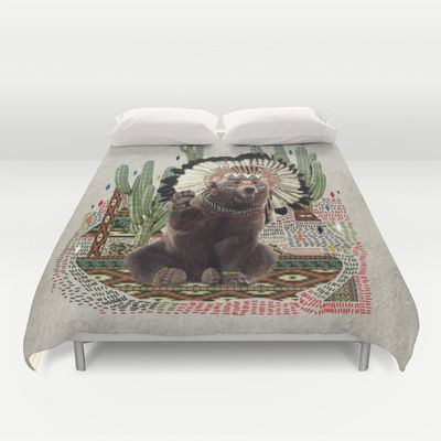 AHANU Duvet Cover by Kris Tate - $99.00