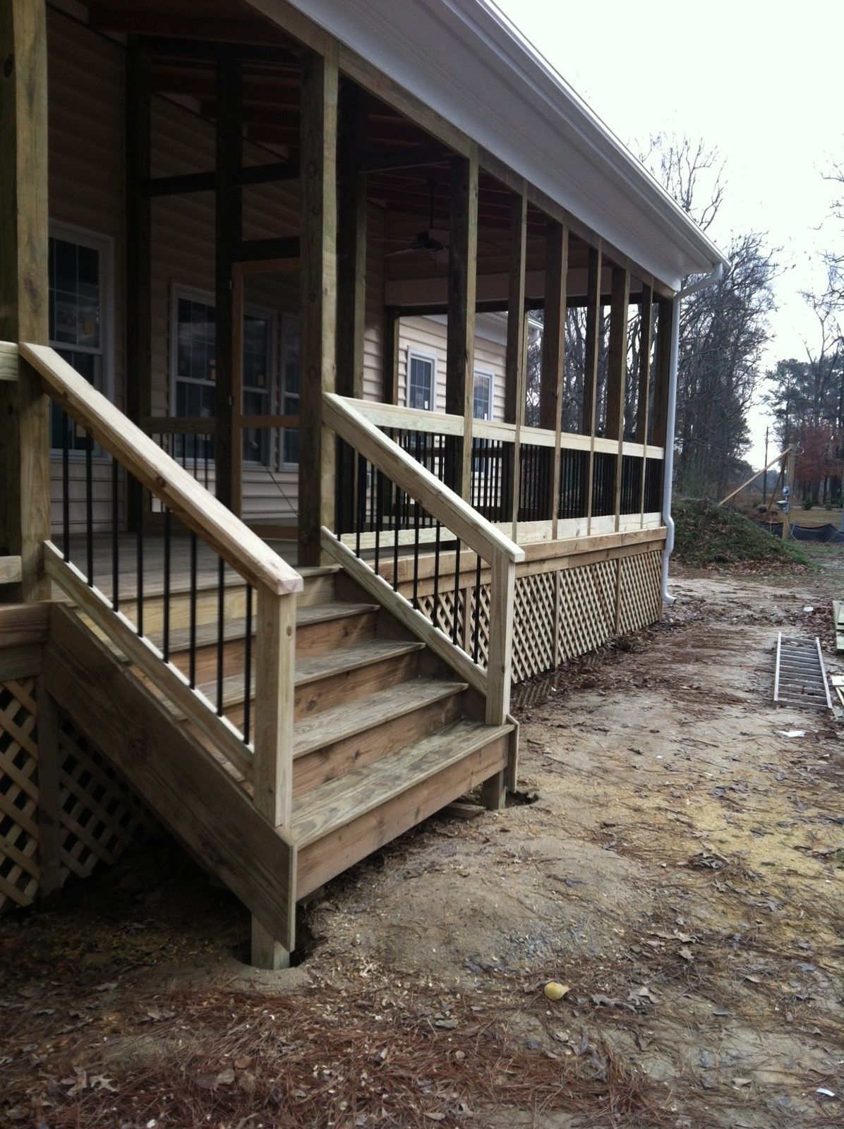 Best Back Porch Stairs Outdoor Stairs Porch Steps Porch Stairs 400 x 300