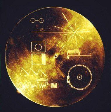 Золотой диск землян для внеземных цивилизаций
