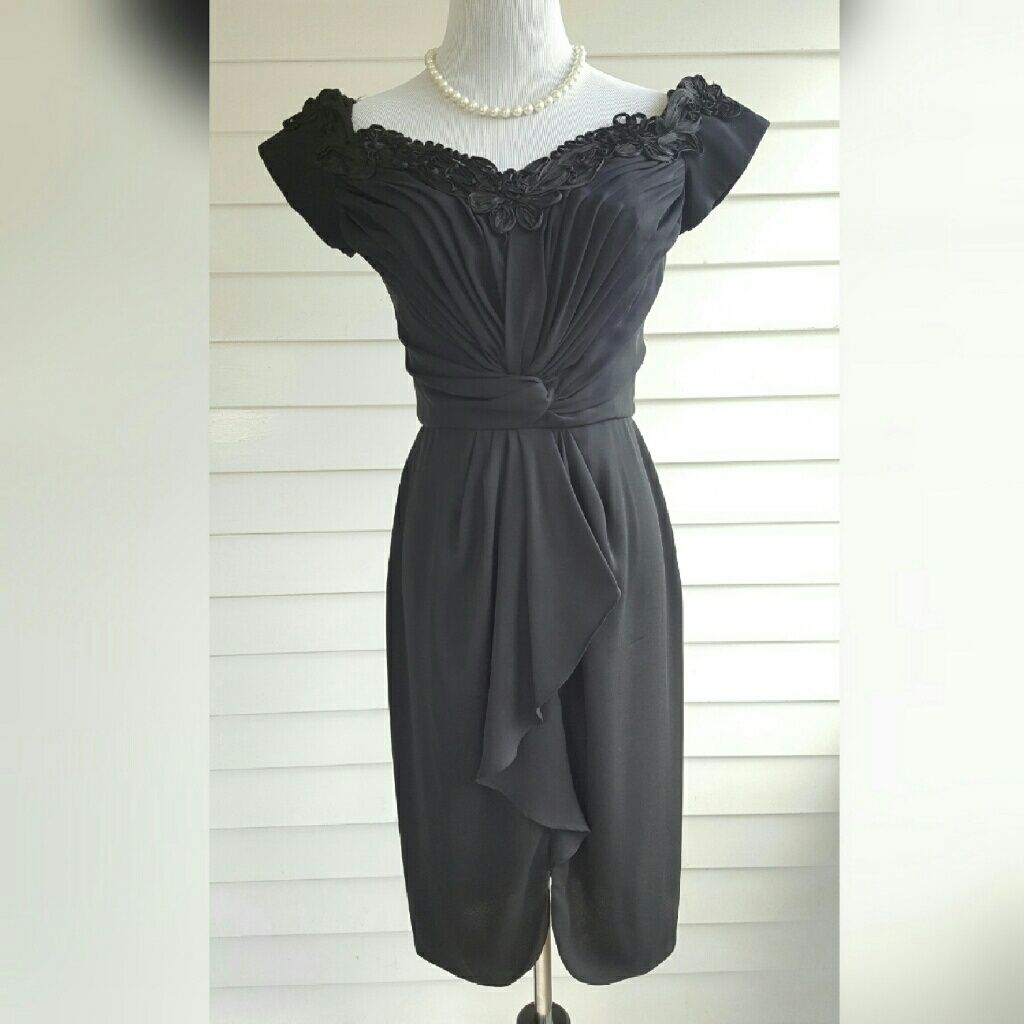 Vintage bb collections black formal dress products