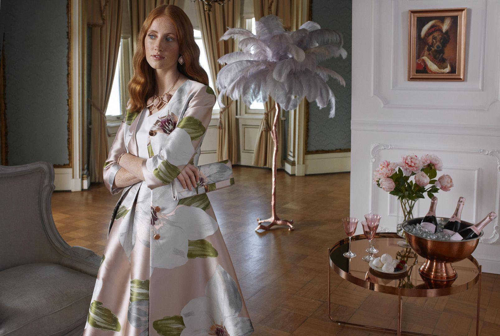 0eaf84abaf598 Ted Baker OTTIE Chatsworth bloom dress coat