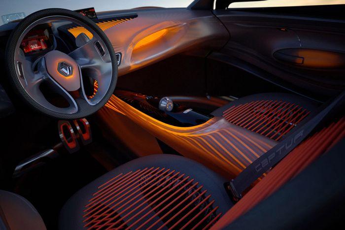 Renault Captur Dash Board Lights - Surelight EL Wire | Surelight ...