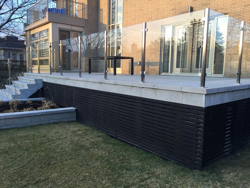 Resultat De Recherche D Images Pour Fermer Terrasse Dessous Patio Outdoor Decor Exterior