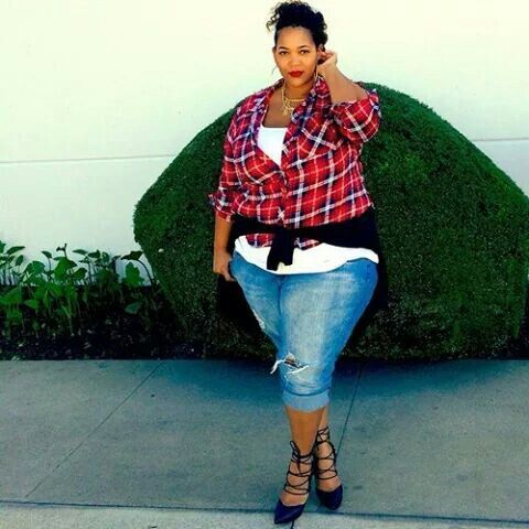 Plus size model. Ladies fashion styles.  Big and beautiful