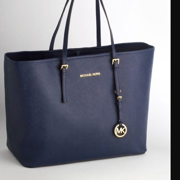 1 Hour Authentic Michael Kors Bag New Never Used Jet