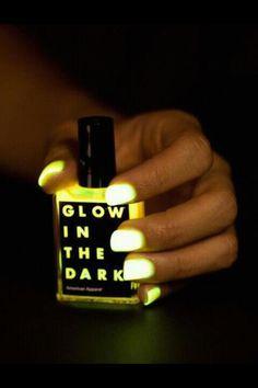 Fluorescent Neon Nail Art Polish Glow In Dark Varnish
