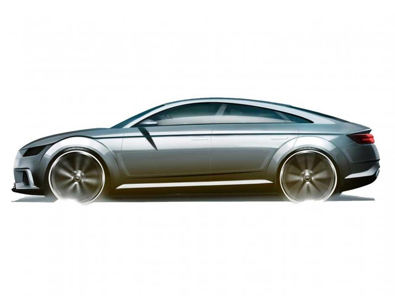 Audi TT Sportback Concept leaks ahead of Paris debut  http://www.4wheelsnews.com/audi-tt-sportback-concept-leaks-ahead-of-paris-debut/  #audi #ttsportback #mondialauto