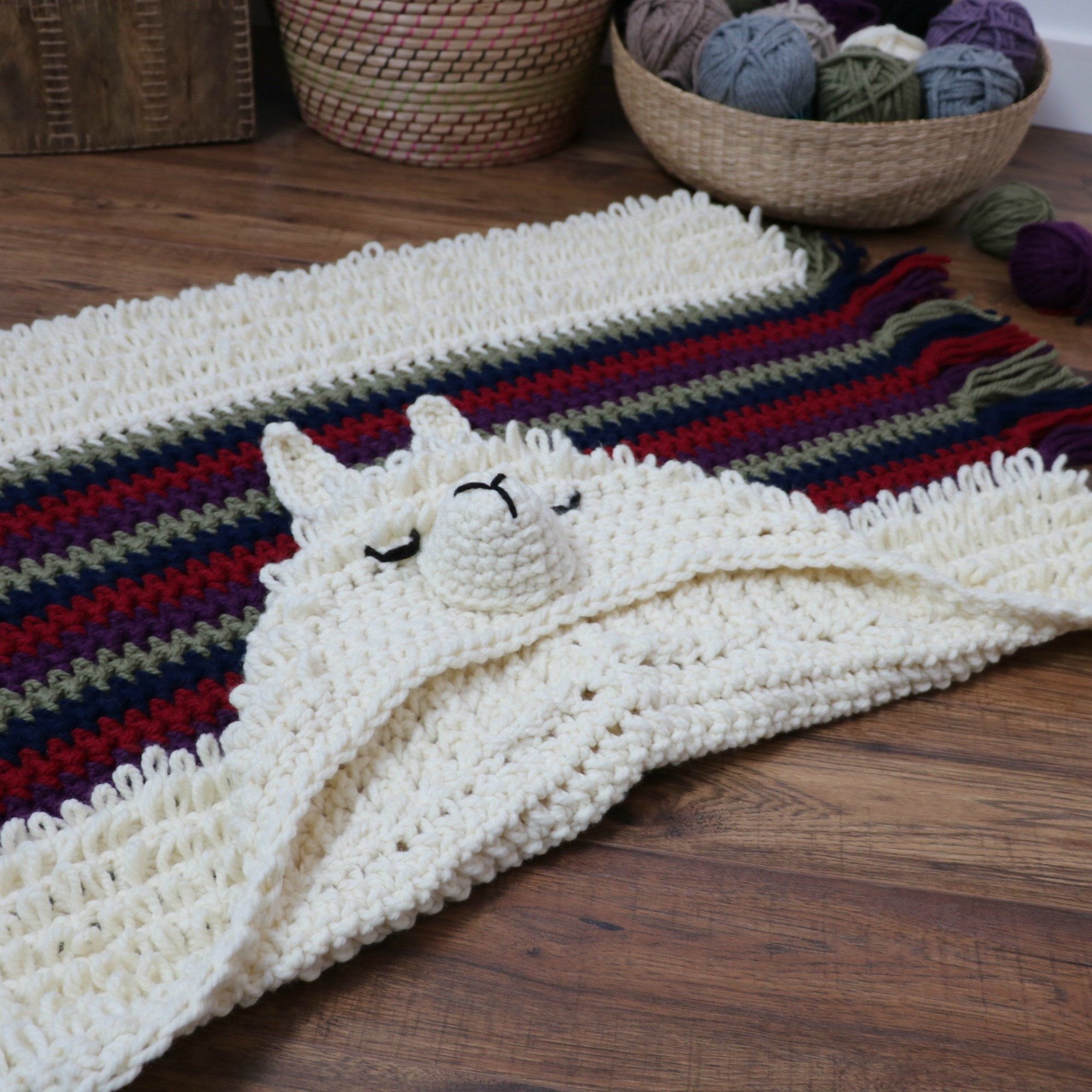 Crochet Pattern Alpaca My Llama Blanket Etsy Crochet Blanket Patterns Crochet Patterns Alpaca Blanket