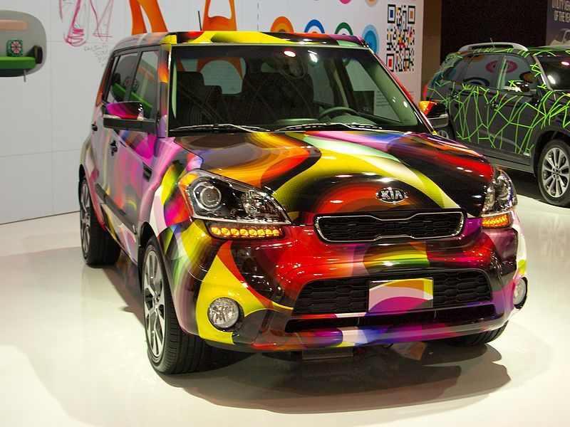 A Kia With A Groovy Soul Kia Soul Kia Soul Accessories Car Covers