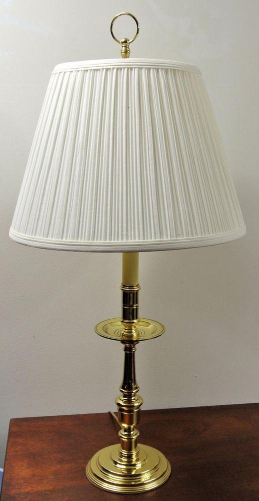 Baldwin Brass James River Tall Candlestick Table Lamp ...