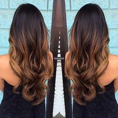 Dark brown long ombre hair hair styles pinterest long ombre hair coloring dark brown long ombre hair urmus Choice Image