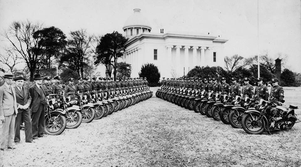ALABAMA MOTORCYCLE STATE PATROL MONTGOMERY ALA 1936