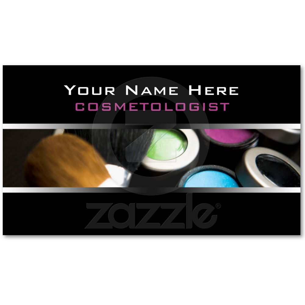 Cosmetologist Business Cards | Cosmetology, Business and Business cards