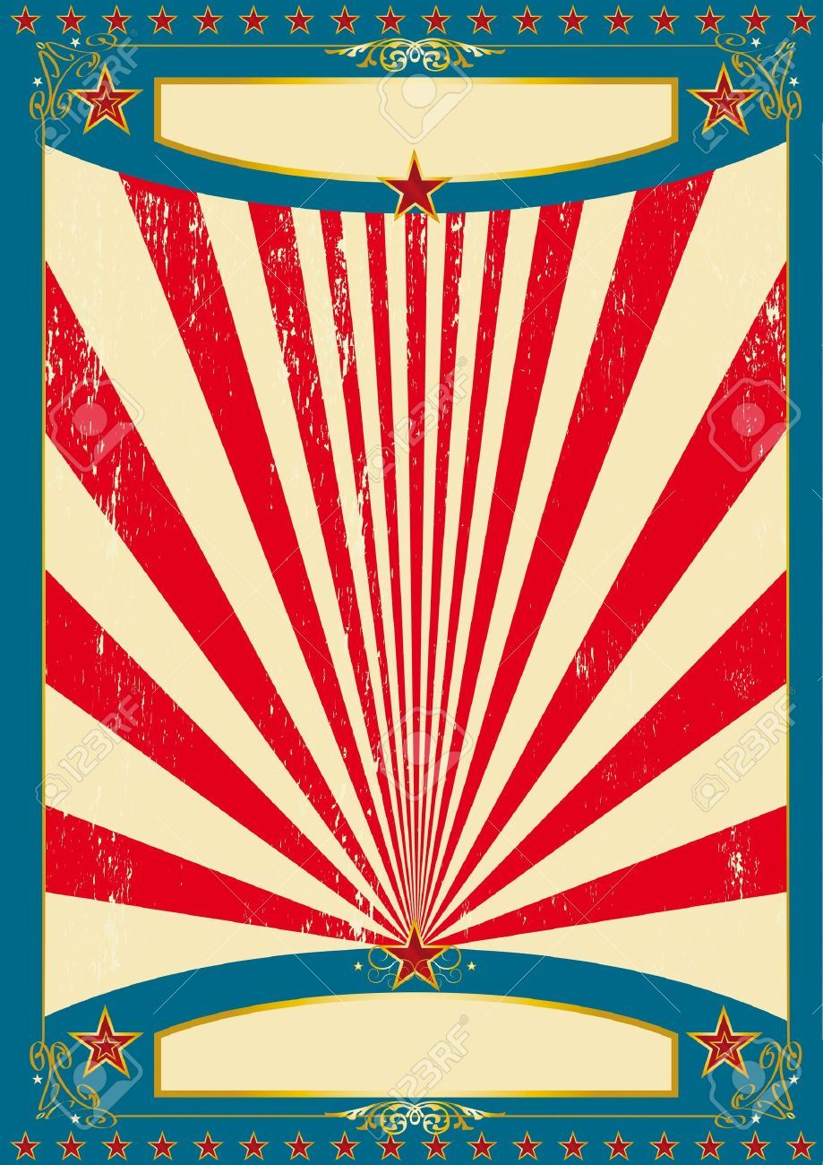 vintage circus poster vector free circus free vector art