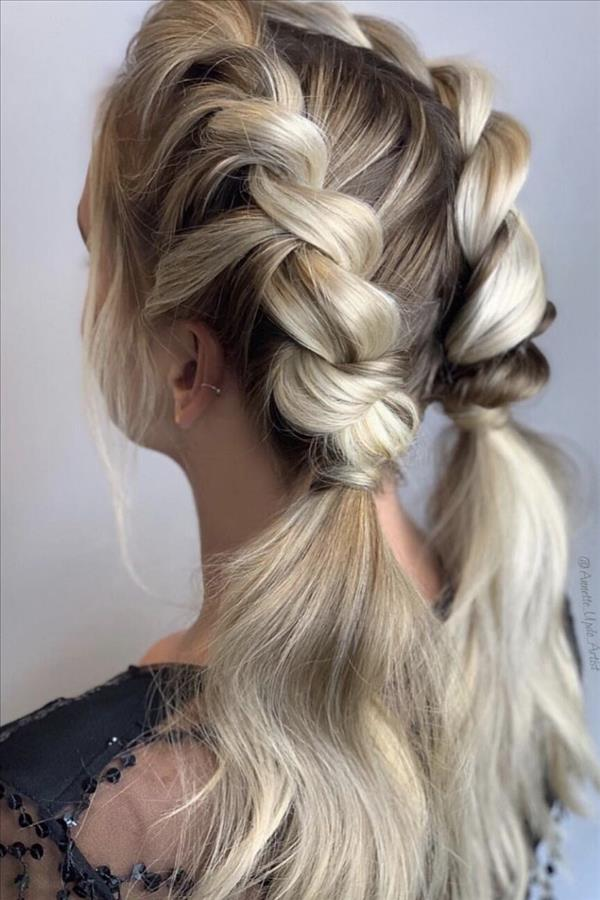 A stylish braided hair that all girls can have - F