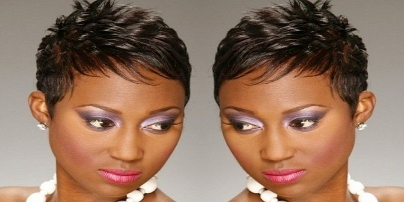 Best Short Hairstyles For Black Women With Thin Hair Short Natural Hair Styles Sleek Short Hair Cool Hairstyles