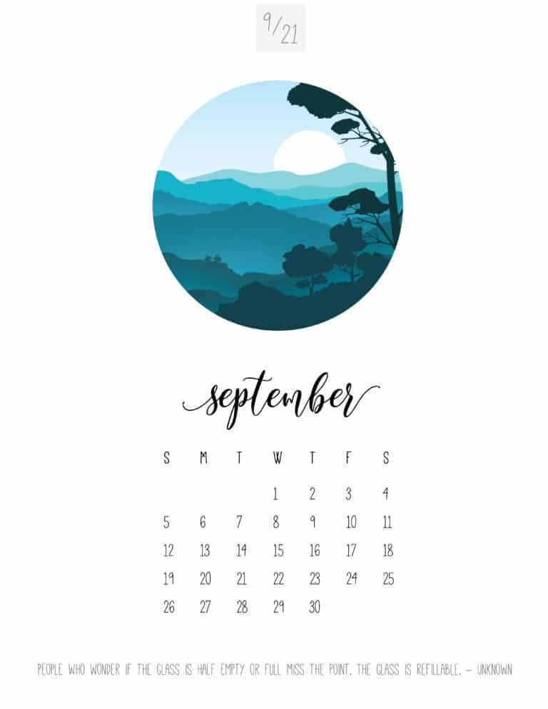 2021 Scenic Calendar World Of Printables Calendar Printables Monthly Calendar Printable Printable Calendar Template