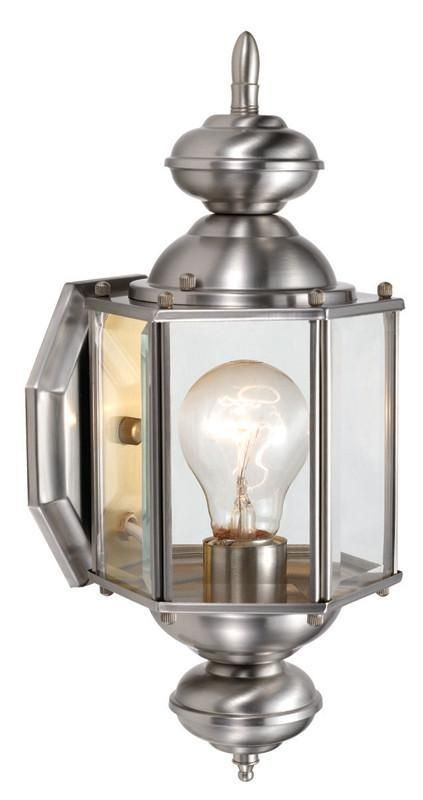 Design House 514869 514869 Augusta Sm Outdoor Uplight Sn Satin ...