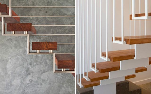 Barandas escaleras interiores trendy escaleras modernas for Escaleras yuste