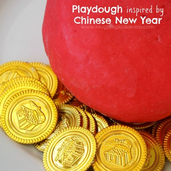 Chinese New Year playdough