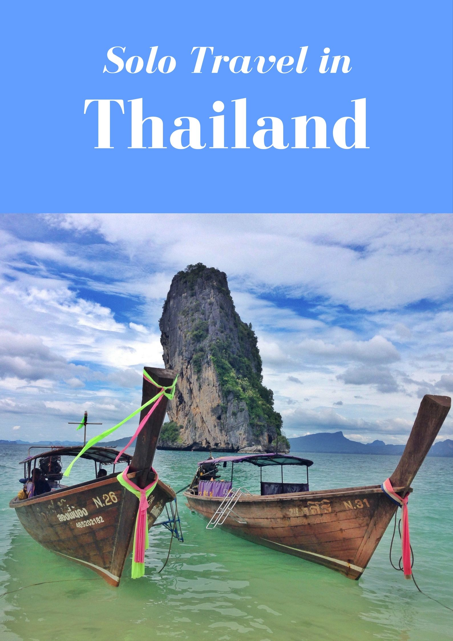Thailand is an amazing country for solo travellers, here's why.