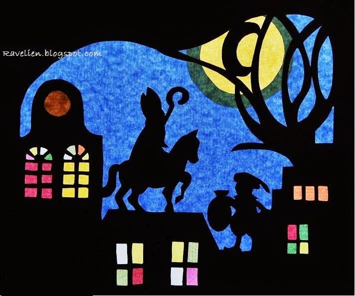 Ravelien: Zie de maan schijnt door de bomen...