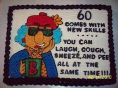 Beck S Maxine Cake For 60th Birthday Happy 60th Birthday 60th