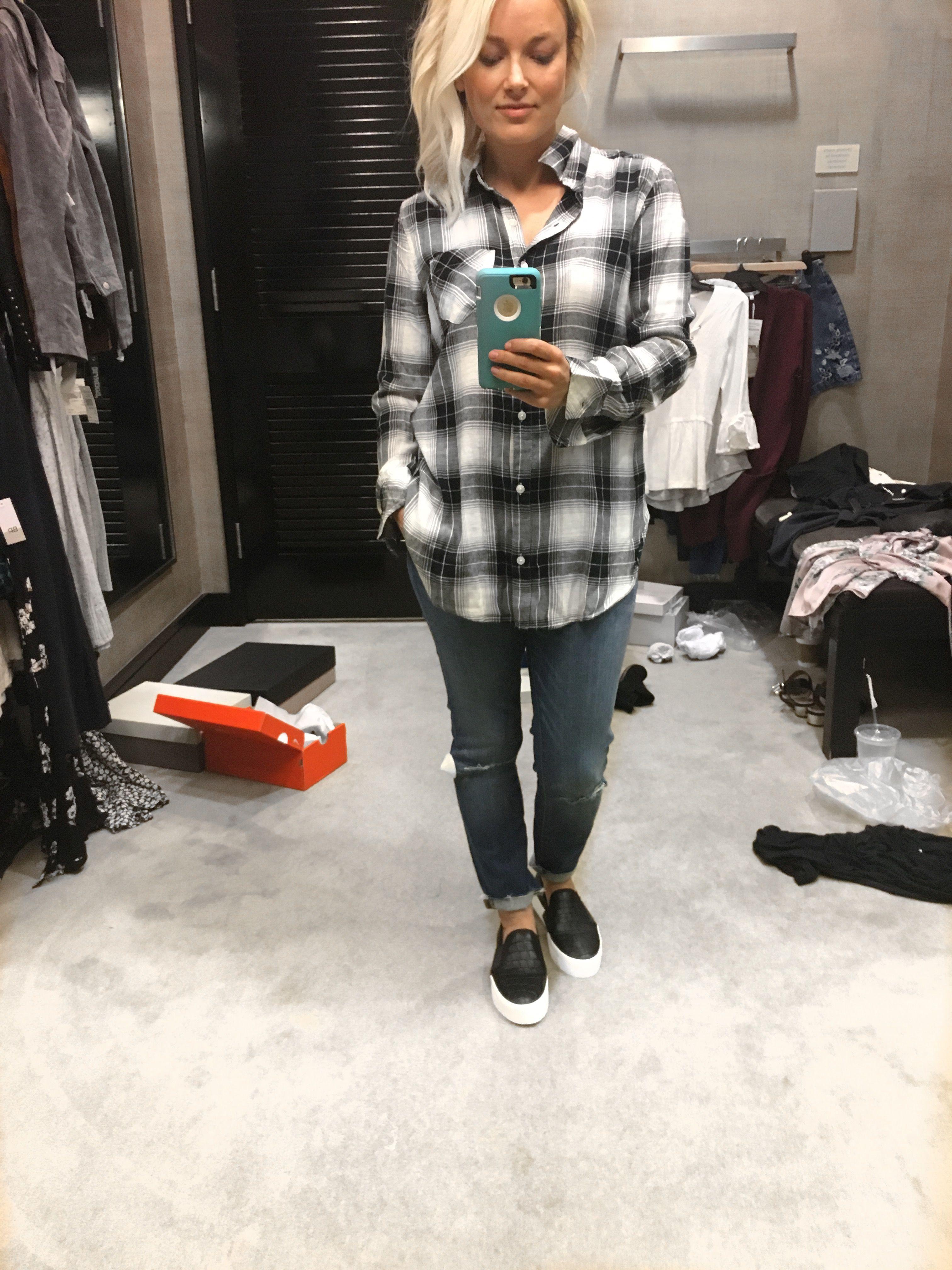 bc80e0ce2aa4 Nordstrom Anniversary Sale 2017 plaid long sleeve shirt