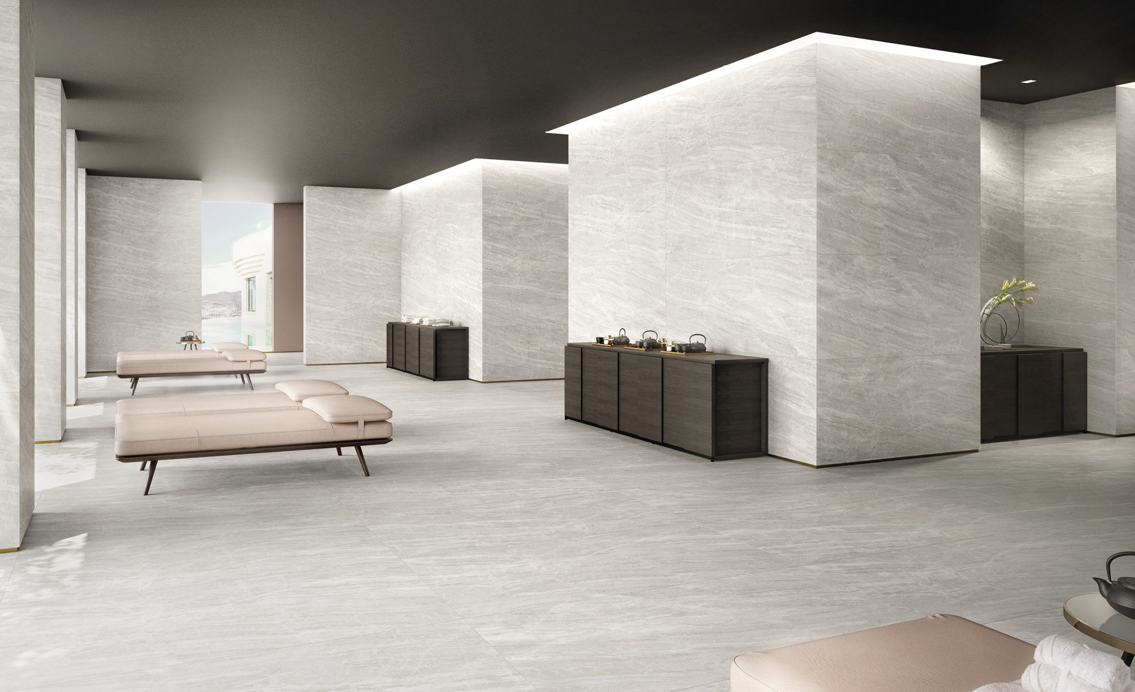 Pin By Galleria Ceramica On Commercial Area Tile Ideas Sophisticated Tile Cosmic Home