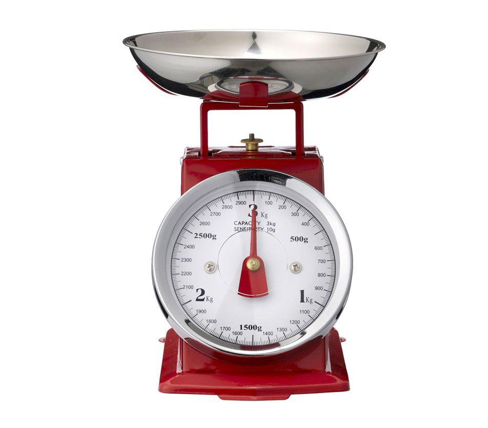 Balance de cuisine rétro rouge- 28€ - Les Esthètes | My Style ...