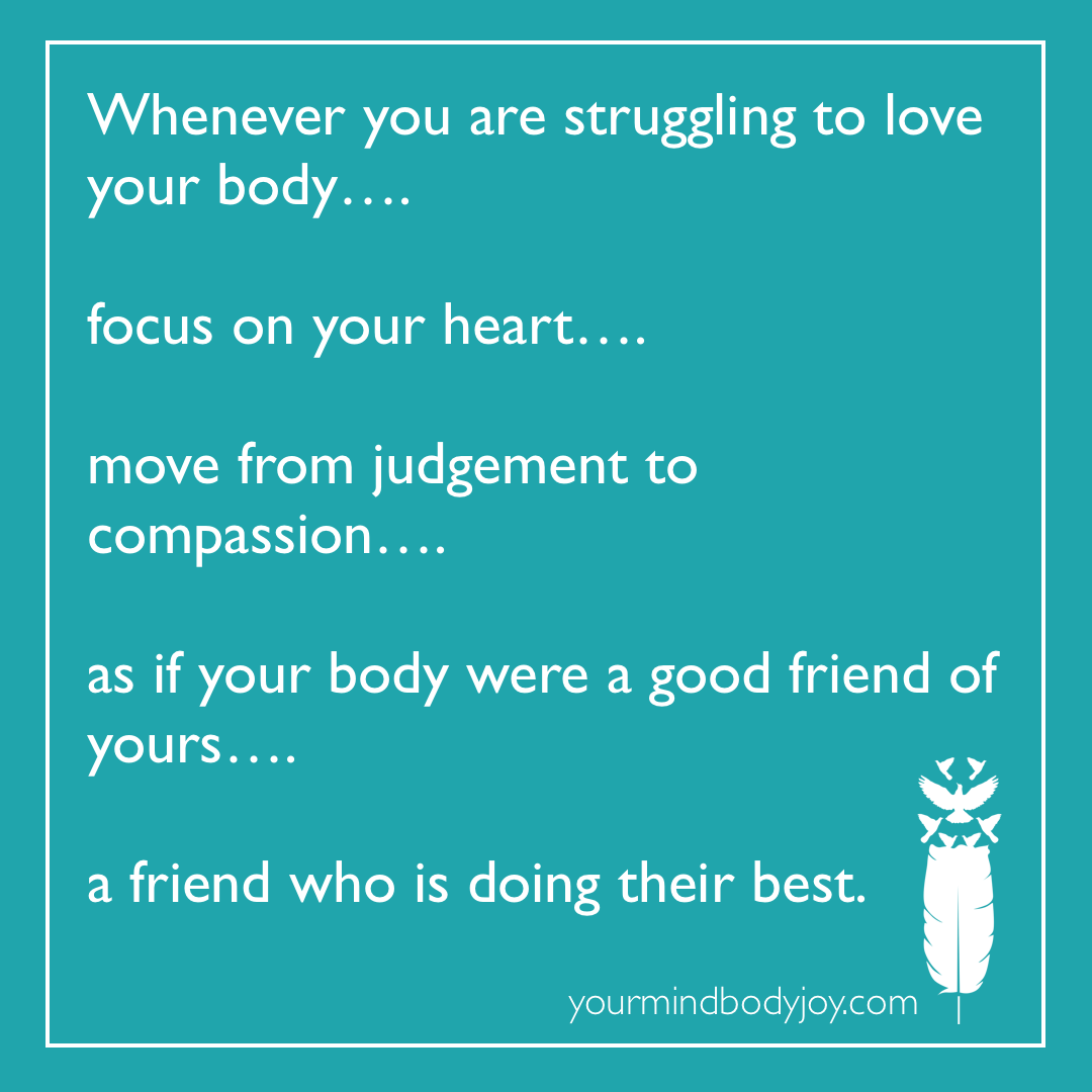 Love Your Body Body Acceptance