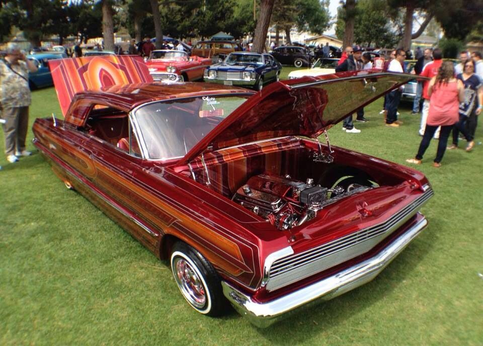 1963 Chevy Impala El Rey Lowriders Lowrider Cars Hot Rods Cars