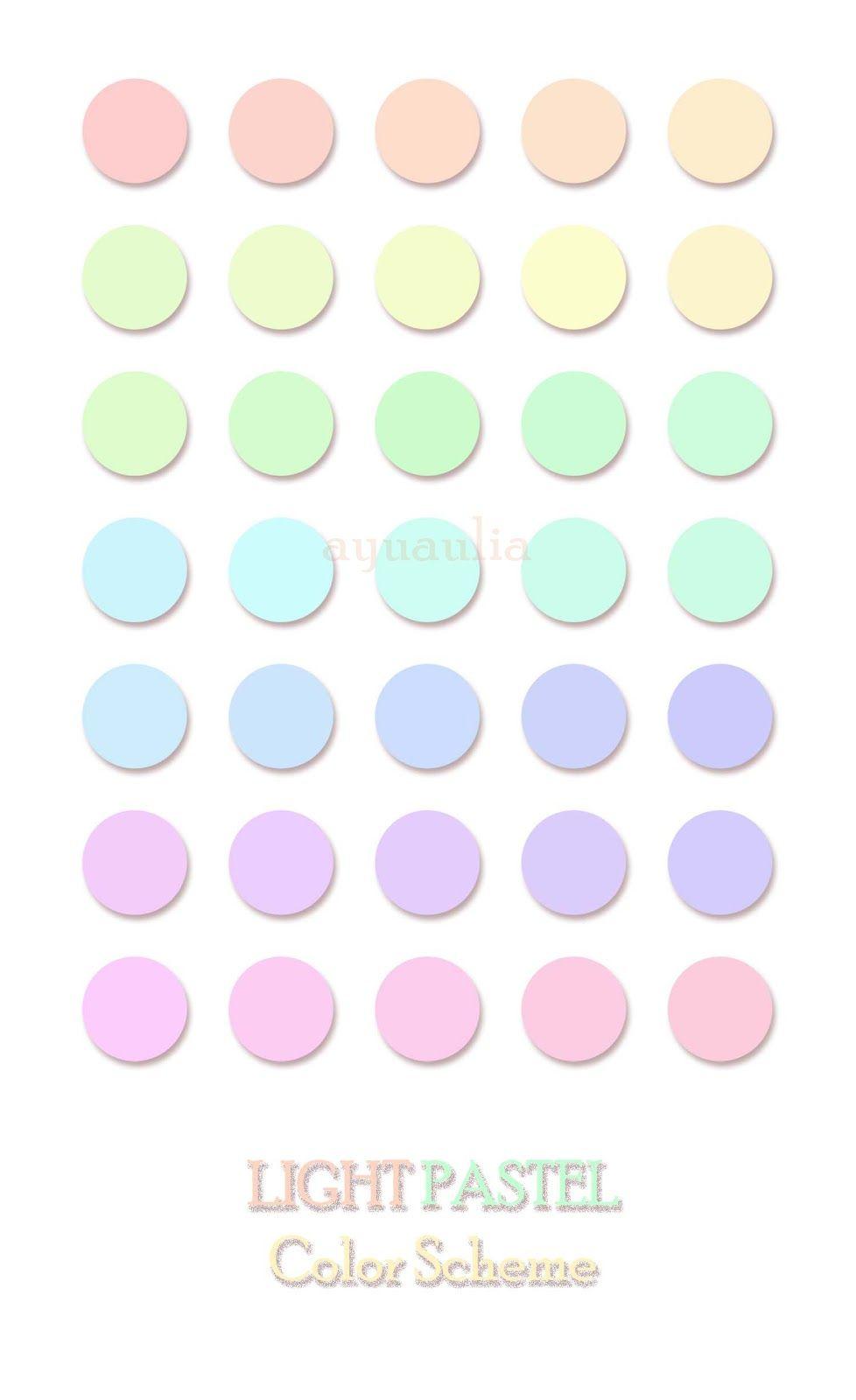 House Of Laiqa Light Pastel Color Scheme