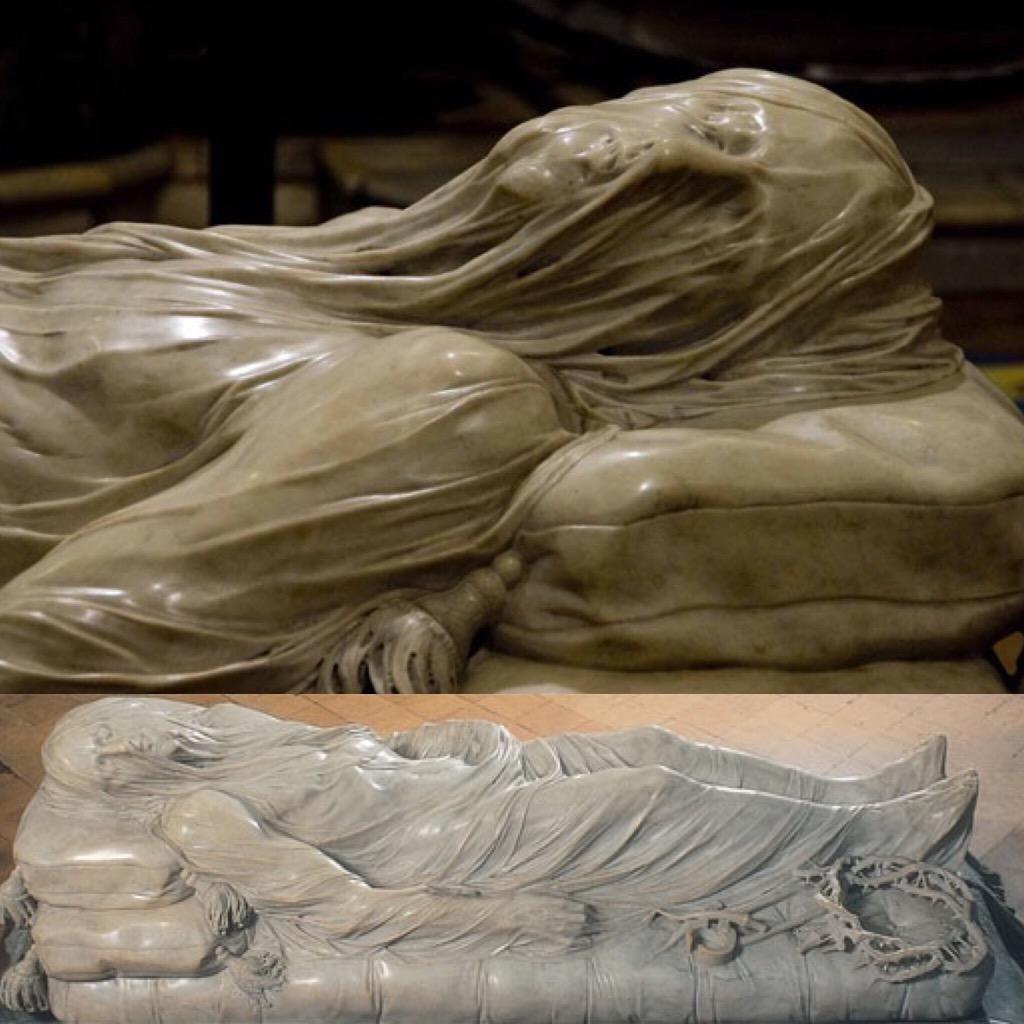 Cristo velato,G.Sanmartino,Capella San Severo,di una suggestione incredibile #napoli #emozioni @CasaLettori