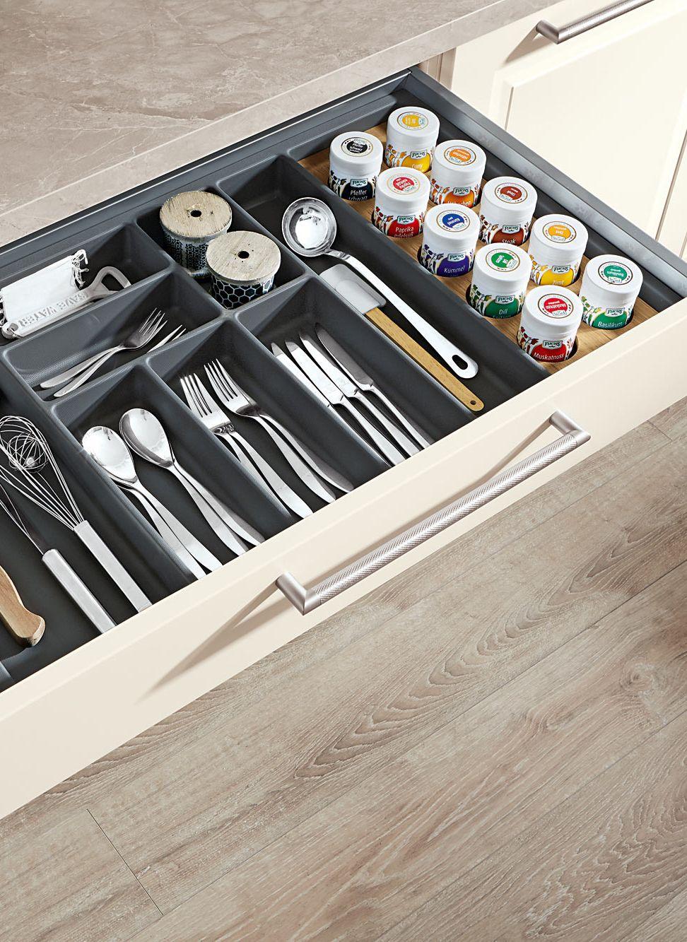 Brauchst du Ordnung in deiner Küche? Mit ganze einfachen Tricks