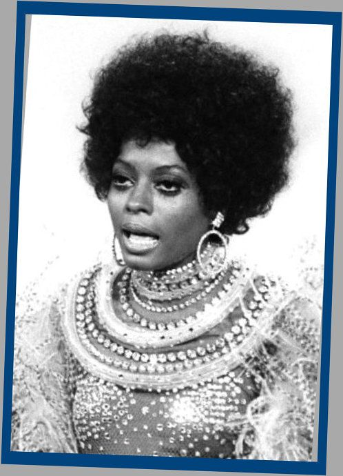 Afro Hairstyle Was In During The 60s For African Americans 70s Afro