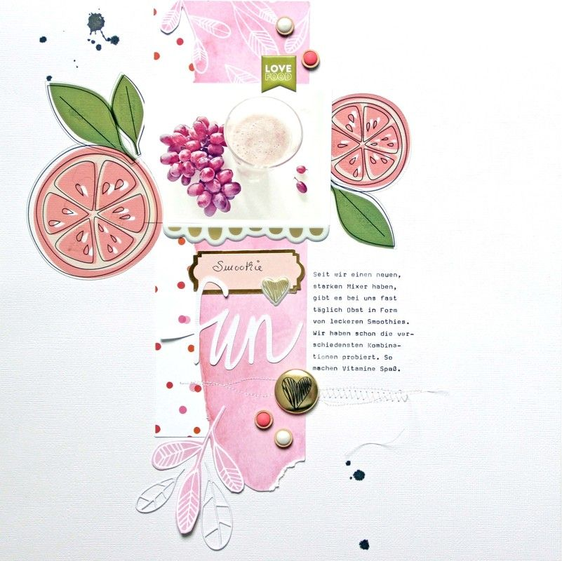 Smoothie fun by Anke Kramer at @studio_calico