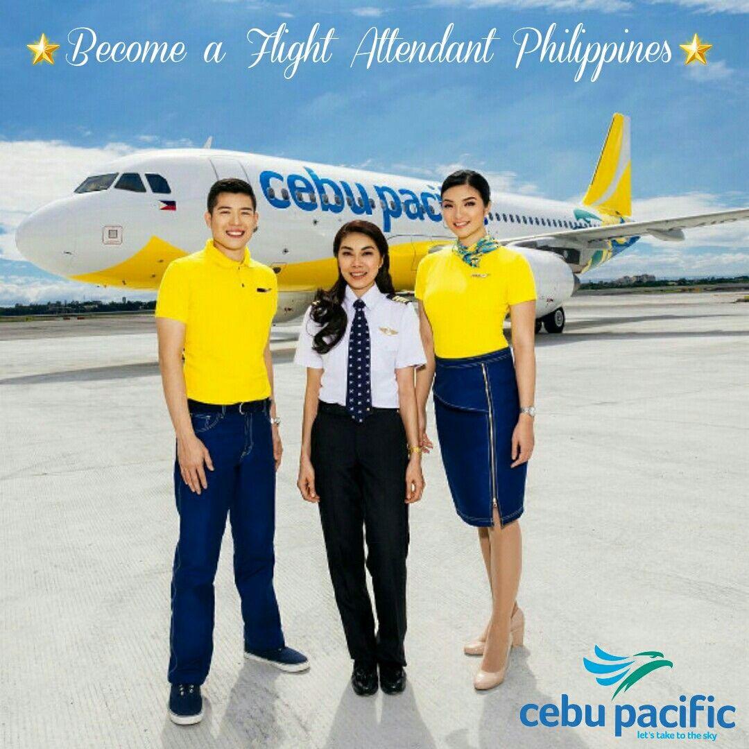 Cebu pacific fligh attendantscabin crews and pilot cebu