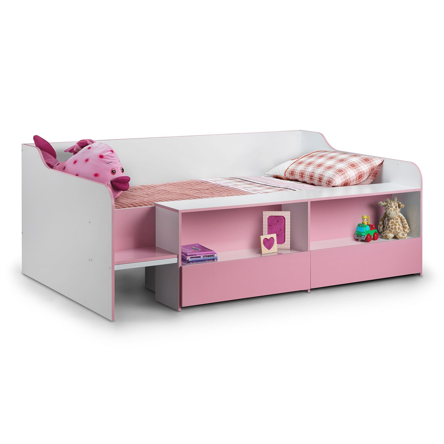 King size loft bed with stairs  Stella Low Sleeper Bed FREE DELIVERY Next Day  Select Day up to