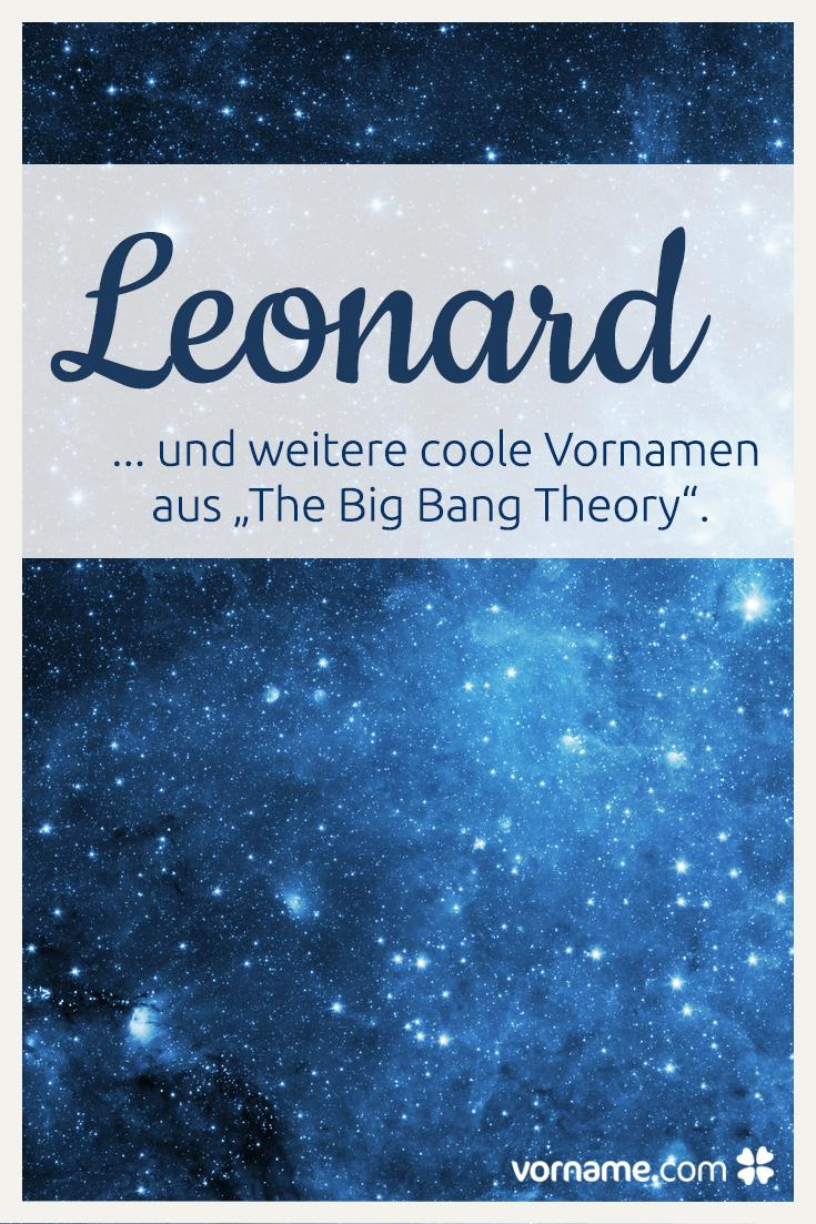 Big Bang Theory Namen