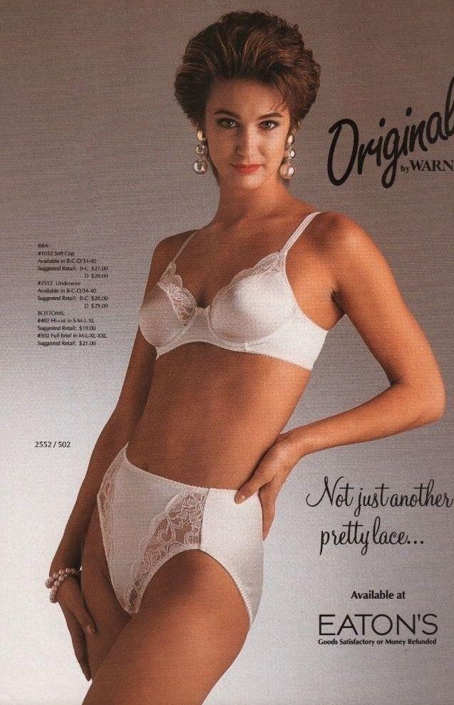 Classic lingerie picture retro