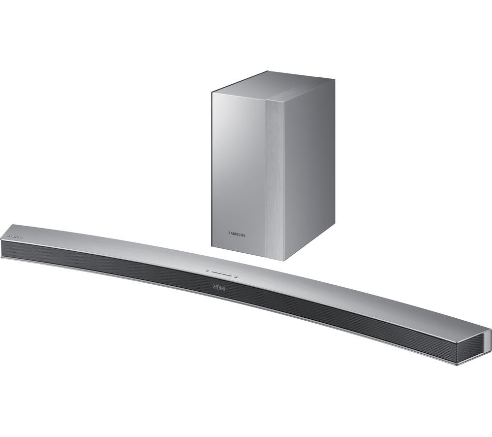 Buy SAMSUNG HW M4501 2.1 Wireless Curved Sound Bar Price: £349.00 Top  Features