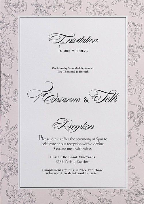 Free Wedding Flyer Template  HttpFreepsdflyerComFreeWedding