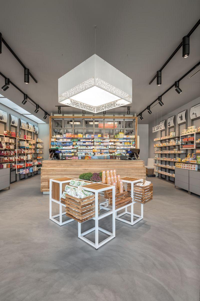 Pharmacy interior design by am lab retailand com