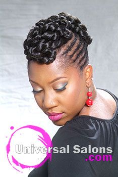 Basket weave braid for black hair
