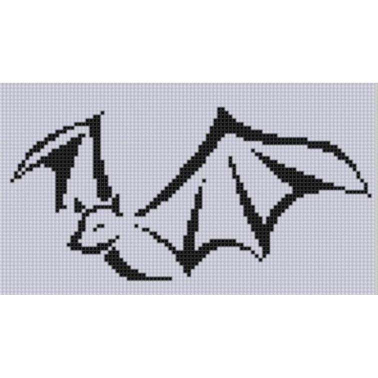 Bat 5 Cross Stitch Pattern | Craftsy | Cross stitch | Pinterest ...