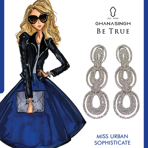 She loves fashion shows & luxury jewels. Her class is as high as her heels & shewill always #BeTrue to her lifestyle. She's Miss Urban Sophisticate.