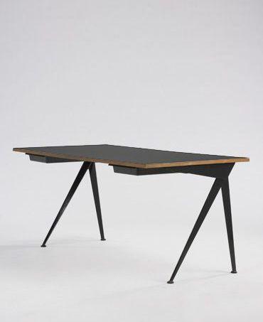 339 Jean Prouve Compass Desk Modern Contemporary Design 25