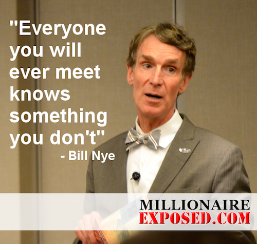 Bill Nye Quotes Everyone You Meet Science Quotes Teacher Quotes Inspirational Quotes