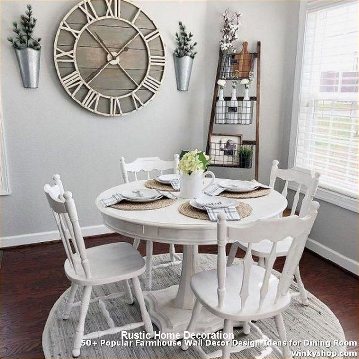 Rustic Wall Decor Ideas In 2020 Dining Room Wall Decor Dinning Room Decor Rustic Dining Room